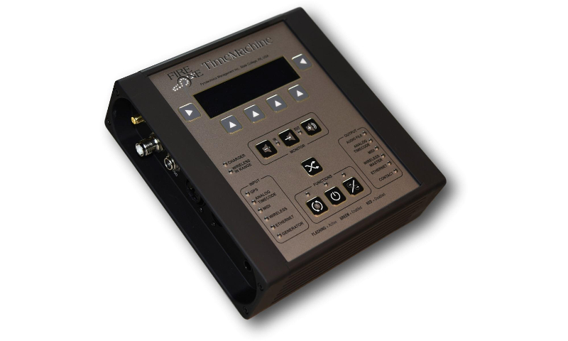 FireOne TimeMachine Time Code Management Device - FireOne Firing System